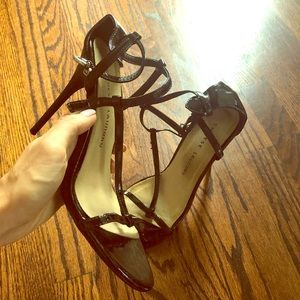 Chinese Laundry strappy Sandals Heels Patent sexy
